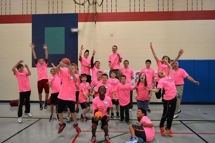 James Helmuth Basketball Buddies T-Shirt Photo