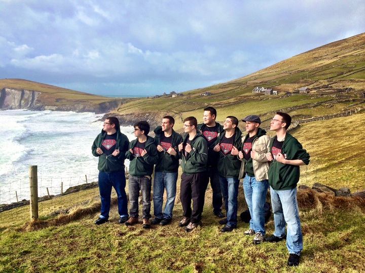 Sh Upermen In Ireland T-Shirt Photo