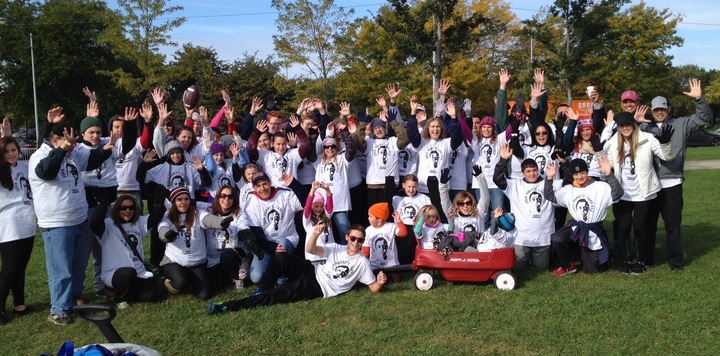 Team Harry's Care Eez   Chicago Jdrf Walk T-Shirt Photo