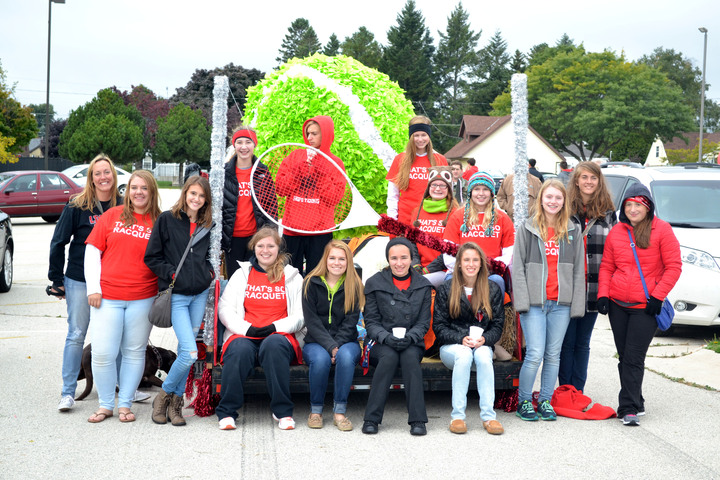 Homecoming Parade   That's So Racquet T-Shirt Photo
