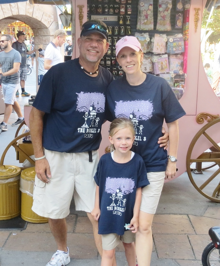 Custom Ink Disney Family.  T-Shirt Photo