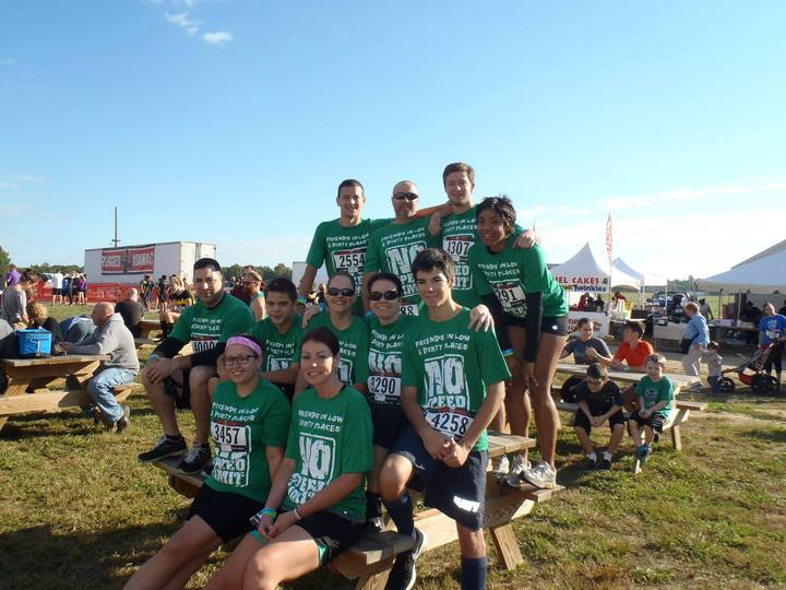 Pre Mud Run Picture  T-Shirt Photo