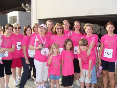 Sisterchicks Race For A Cure T-Shirt Photo