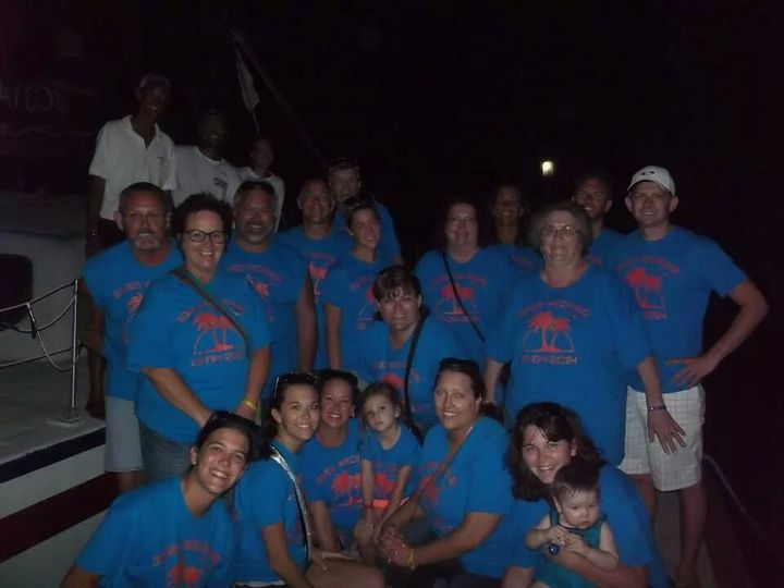 Fun On The Pier In St Thomas T-Shirt Photo