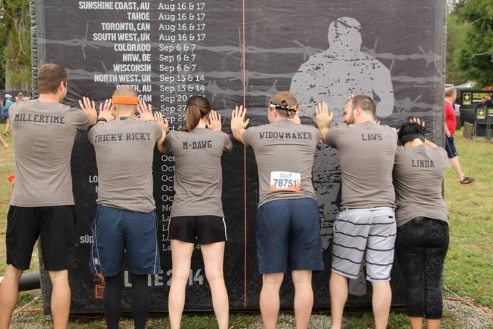 Tough Mudder Group Shot T-Shirt Photo