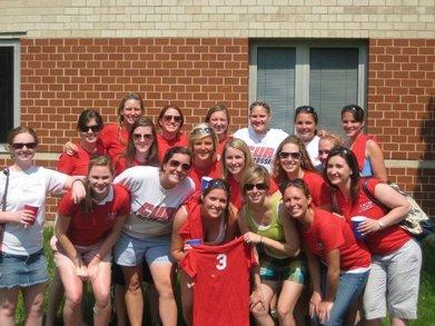 Catholic U Lax Alumni Reunion T-Shirt Photo