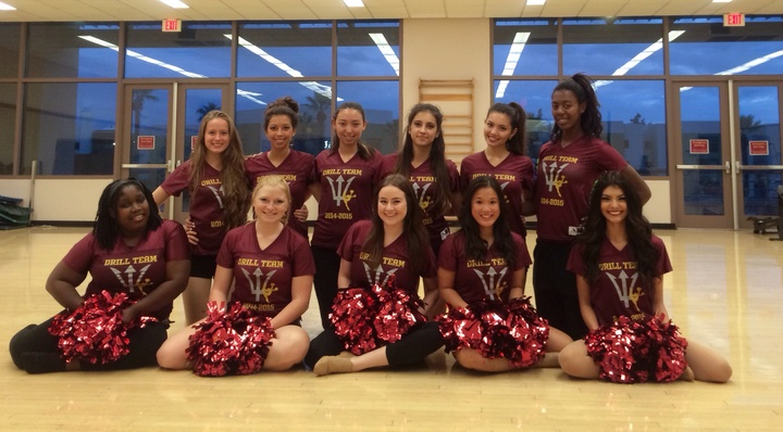 Asu Drill Team With Their New Team Jerseys. Thank You, Custom Ink... They Are Perfect! T-Shirt Photo