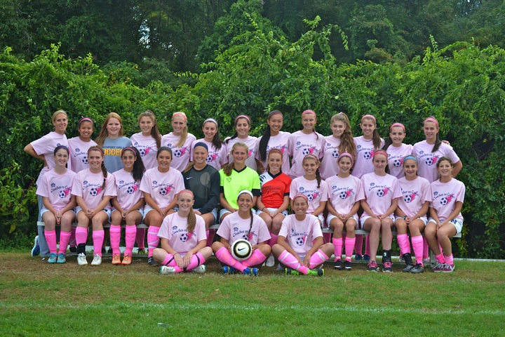 Coaches Vs Cancer Northport Varsity Girls Soccer T-Shirt Photo