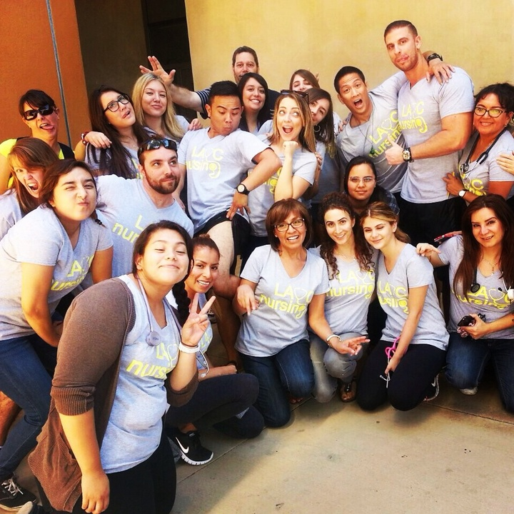 Lavc Nursing Students T-Shirt Photo