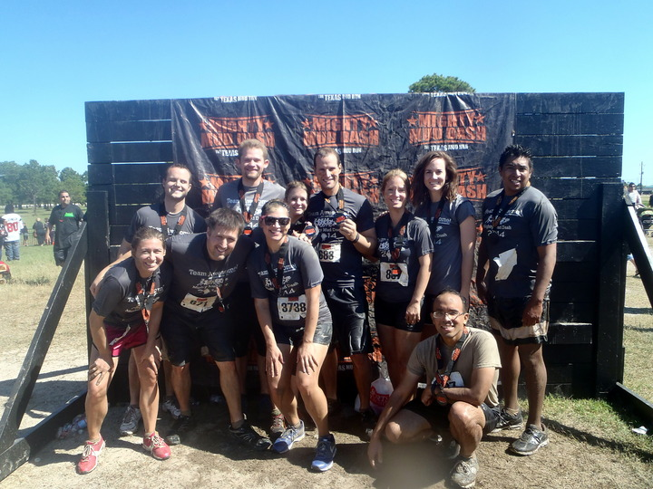 Team Awesome Post Mud Run T-Shirt Photo