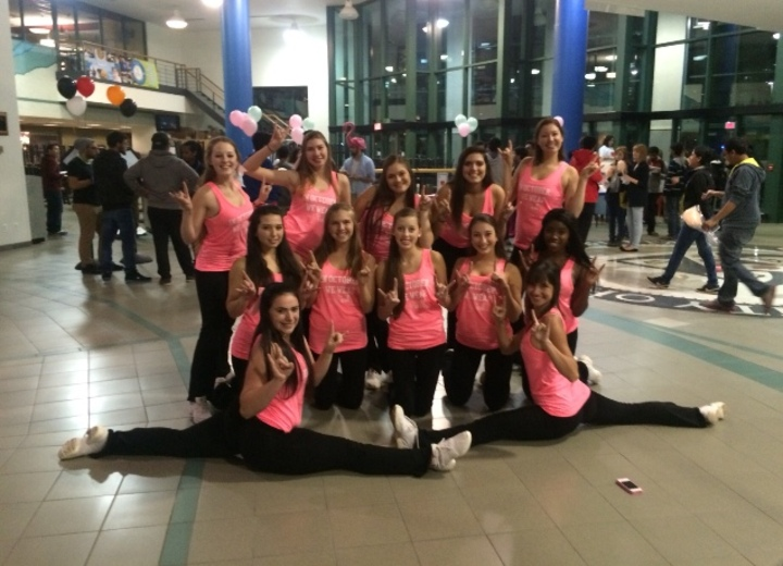 Ub Kickline Goes Pink This October T-Shirt Photo