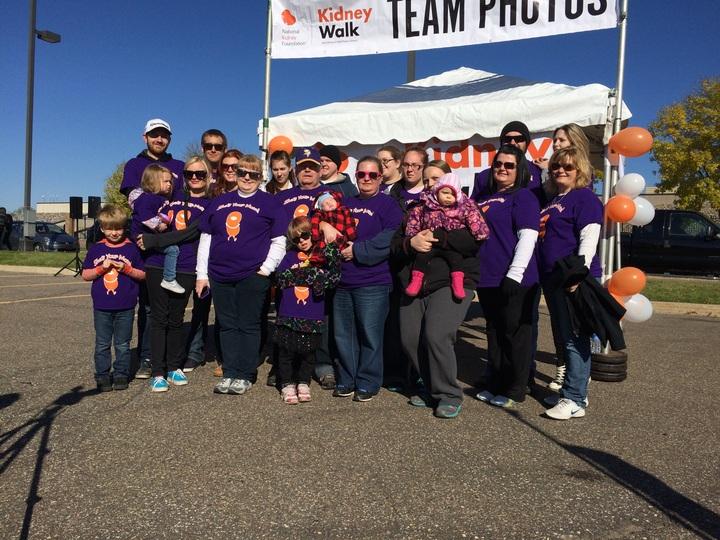 Kidney Walk Team Photo T-Shirt Photo