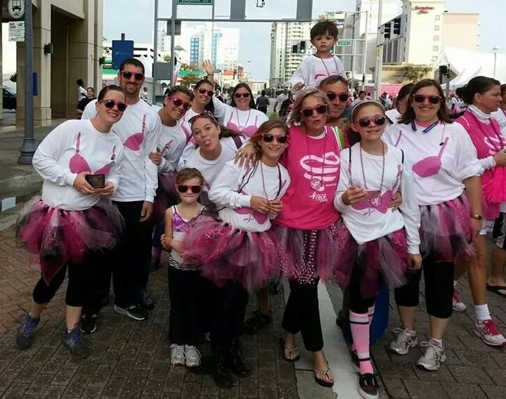 The Pink Boobalicious Babes T-Shirt Photo