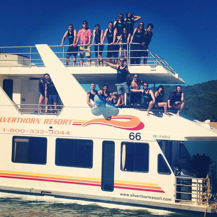 Houseboat T-Shirt Photo