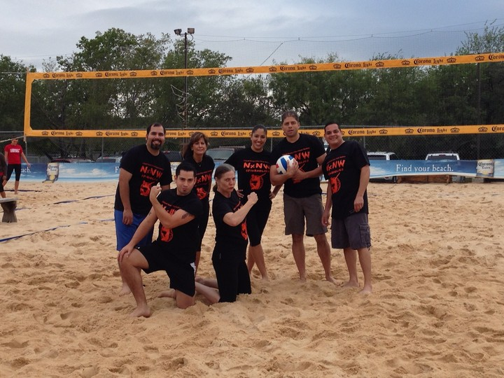 Team Spikeaholics T-Shirt Photo