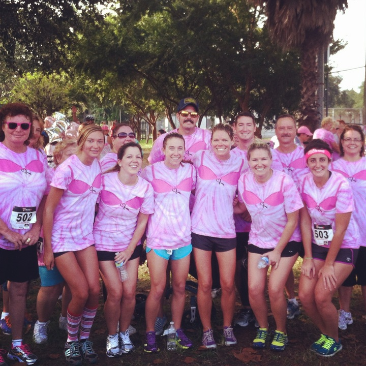 Team Anchor For Breast Cancer Awareness  T-Shirt Photo