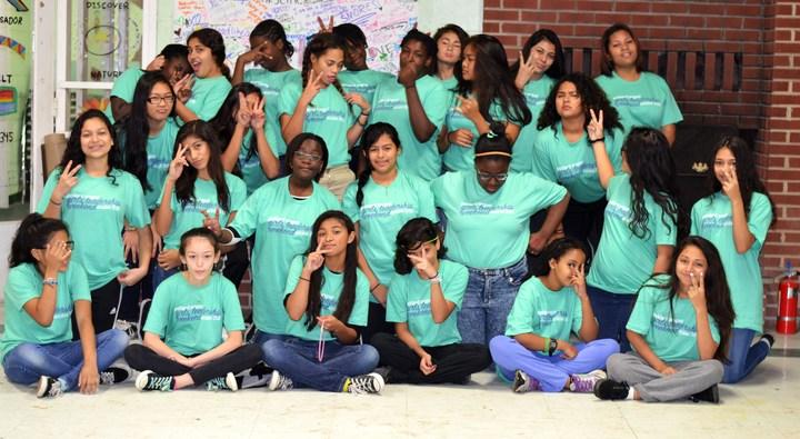 Parkland Middle School Girls Leadership Weekend T-Shirt Photo