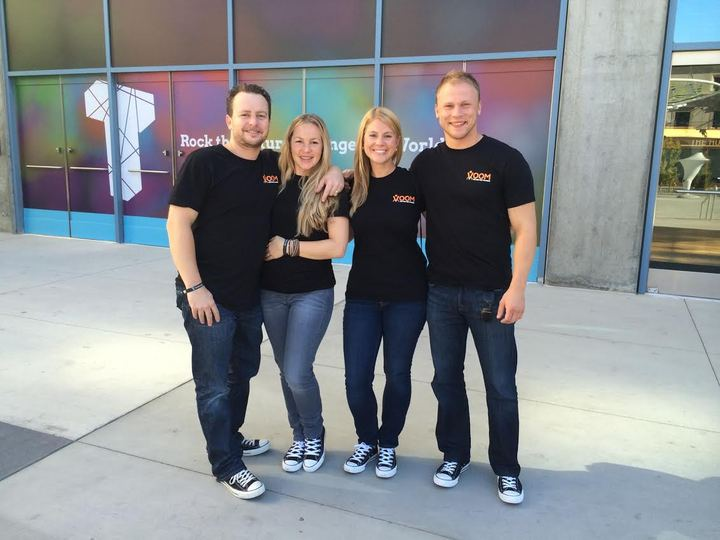 Voom Wellness At Techmanity! T-Shirt Photo