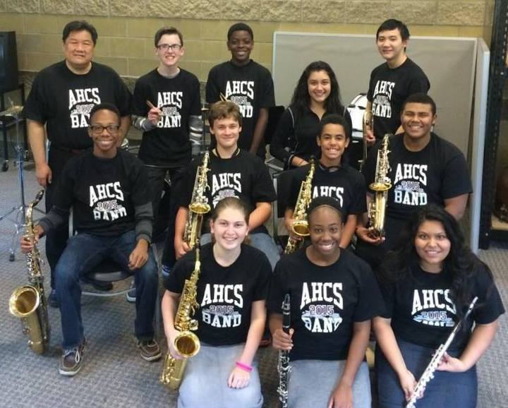 2014 2015 Ahcs Concert Band T-Shirt Photo
