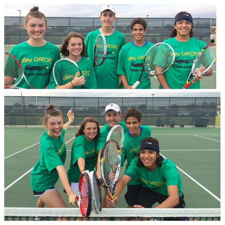 Alley Gators Team Tennis T-Shirt Photo