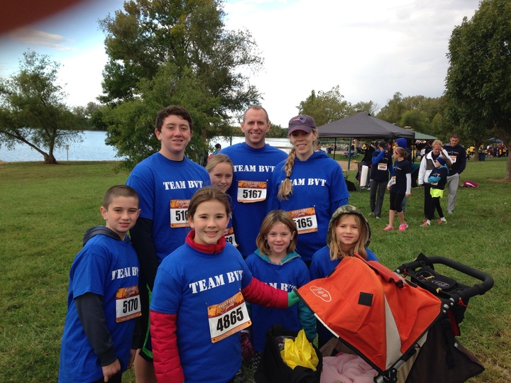 Team Bvt  1st Annual Sarcoma Run/Walk T-Shirt Photo