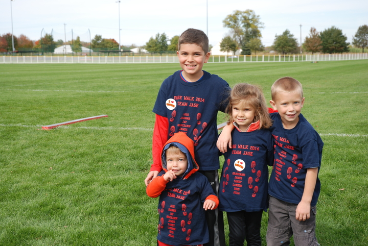 Team Jase For Fare Walk For Food Allergies T-Shirt Photo