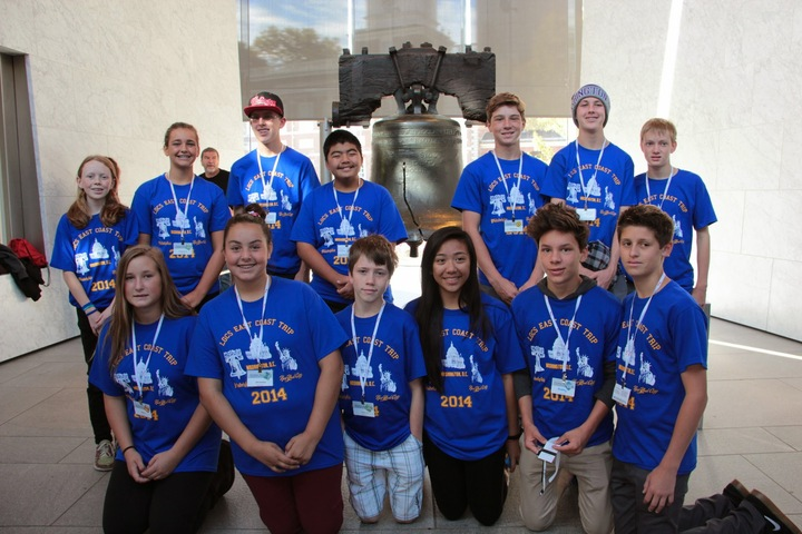 Los Gatos Christian School East Coast Trip 2014 T-Shirt Photo