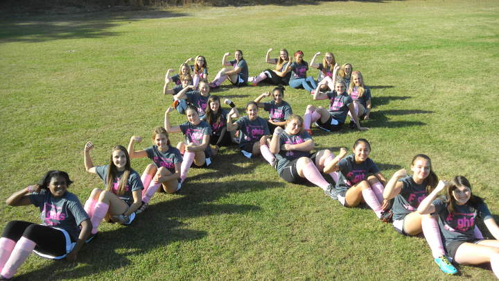 Maynard Field Hockey Pink Ribbon T-Shirt Photo