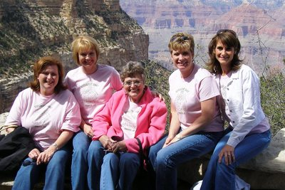 Sister Fest At The Grand Canyon T-Shirt Photo
