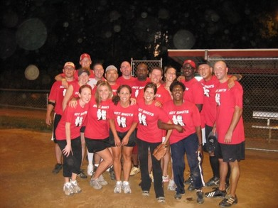 League Champion Hot Shots T-Shirt Photo