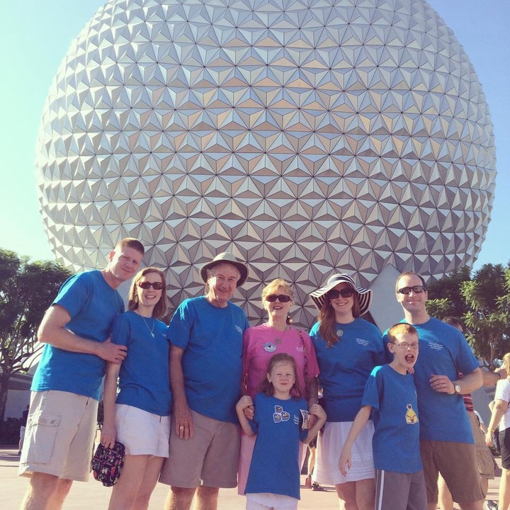 Epcot Birthday Celebration T-Shirt Photo