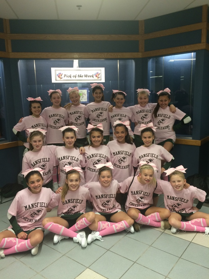 Mansfield Pop Warner A Team 2014  T-Shirt Photo