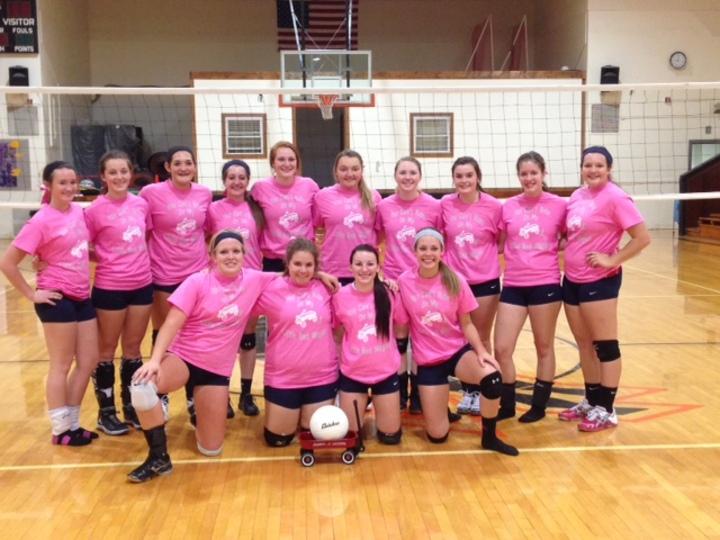 Clifton Clyde High School Volleyball Team T-Shirt Photo