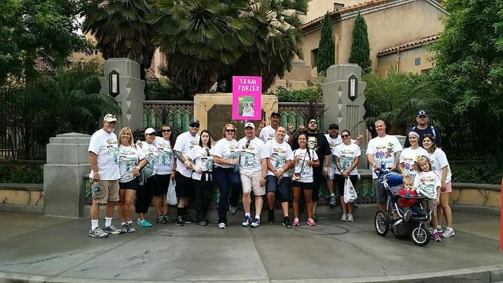 Team Torlex Choc Walk 2014 T-Shirt Photo