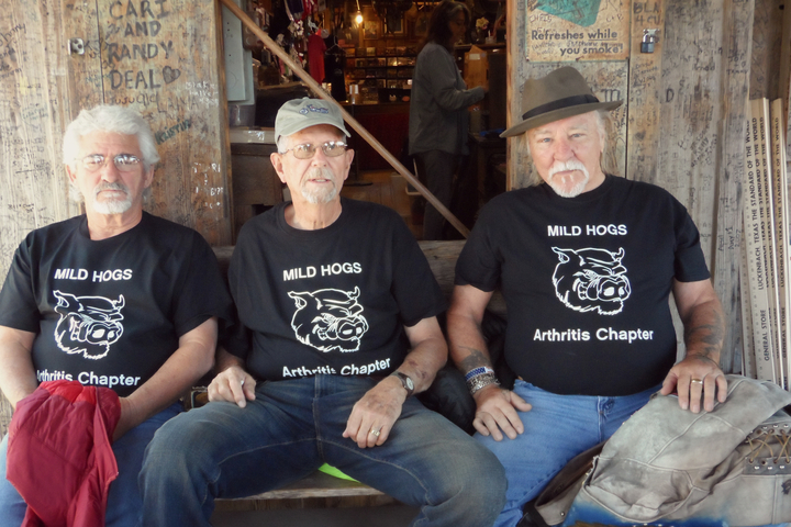 Young Old Men T-Shirt Photo