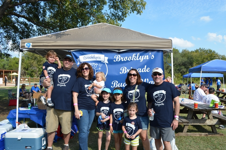 Great Day And Good Fun At The Dsact Buddy Walk In Austin, Texas T-Shirt Photo