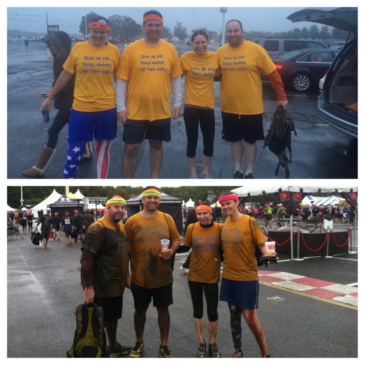 Pre And Post Race T-Shirt Photo