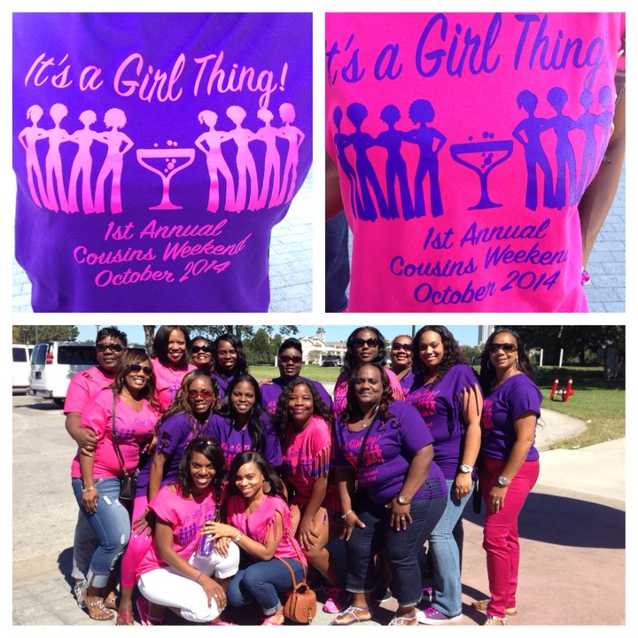 It's A Girl Thing! T-Shirt Photo
