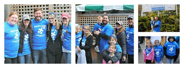 Gavin's Gang   Great Boston Autism Speaks Walk T-Shirt Photo