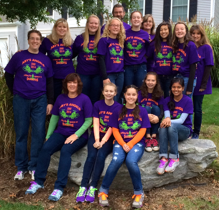 Aby's Angels   Jdrf 2014 T-Shirt Photo