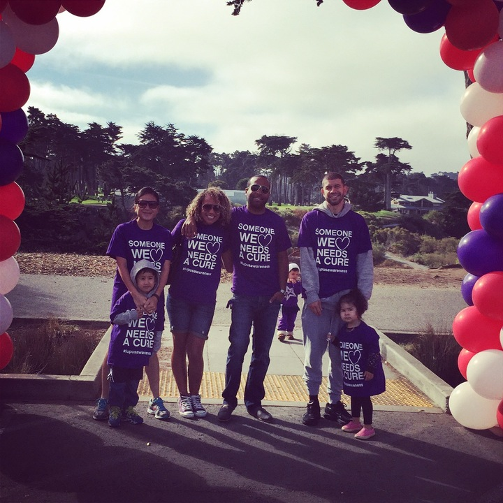 H Town Sf Lupus Walk 2014 T-Shirt Photo