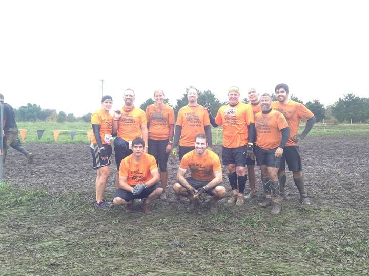 Mudder Truckers   Tough Mudder Missouri 2014 T-Shirt Photo