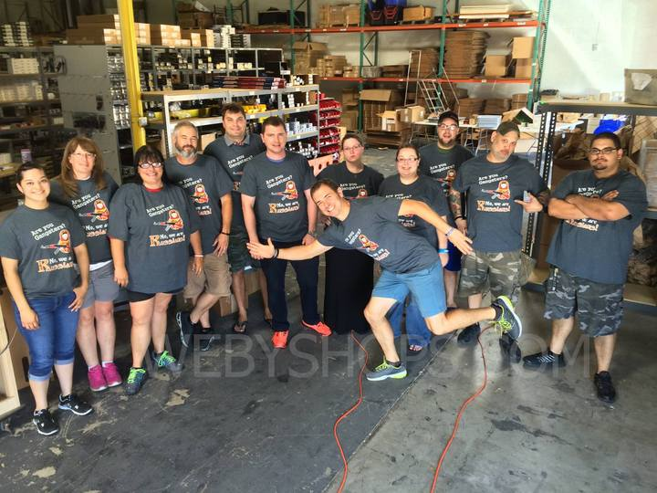 Webyshops Operations Crew T-Shirt Photo