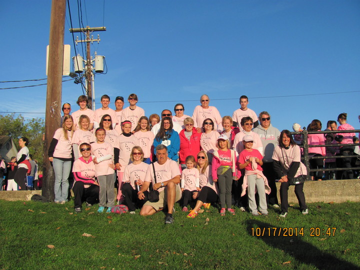 Making Strides Against Breast Cancer 2014 T-Shirt Photo