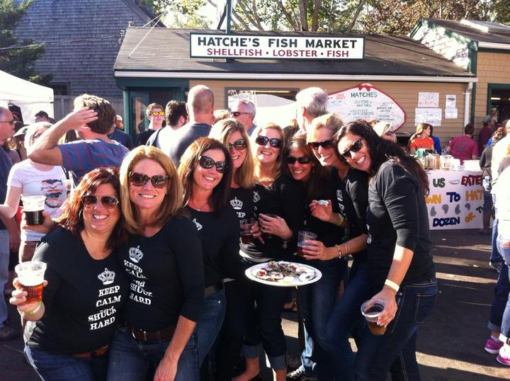 Wellfleet Oysterfest 2014 T-Shirt Photo