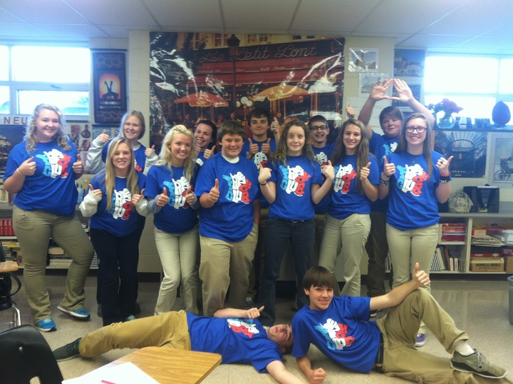 Fun With French Club T-Shirt Photo