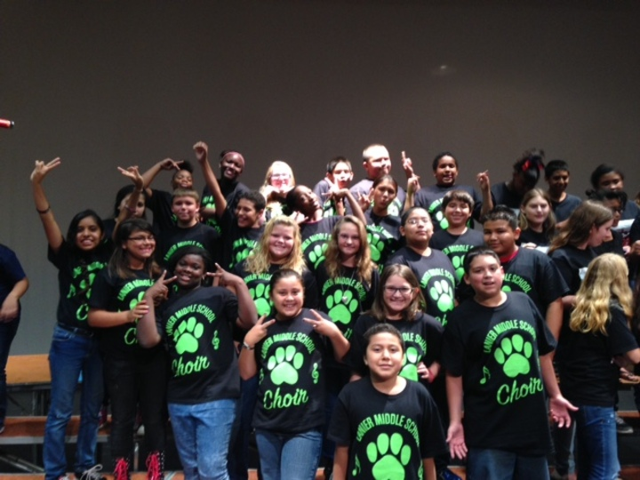 Lanier Choir T-Shirt Photo