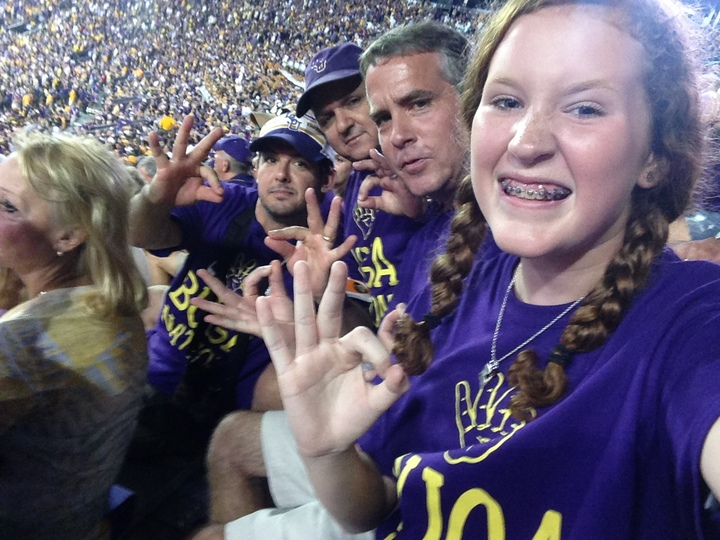 Fun Times In Tiger Stadium T-Shirt Photo