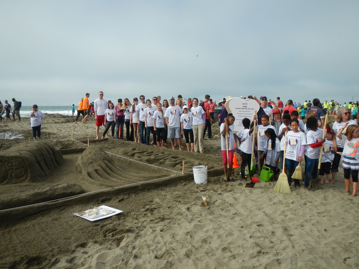 Made A Tasty Sandcastle For Team Peanut Butter And Jellyfish! T-Shirt Photo