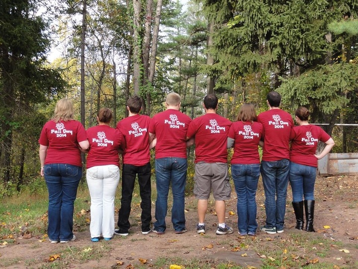 Fall Day 2014  An Annual Traditon! T-Shirt Photo